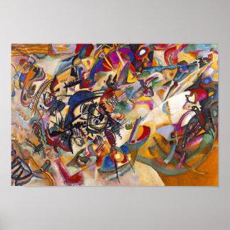 Wassily Kandinsky - art abstrait de la composition