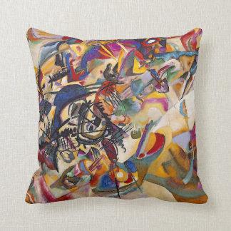 Wassily Kandinsky - art abstrait de la composition Coussin