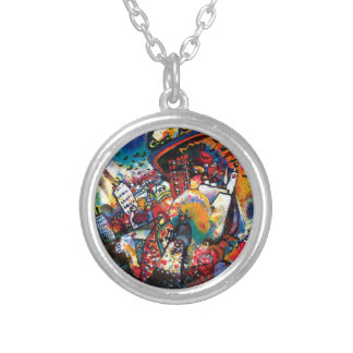 Wassily Kandinsky - art abstrait de paysage urbain Colliers
