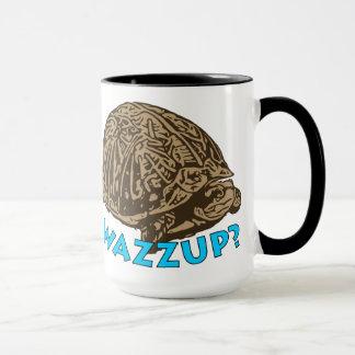 Wazzup - noir tasse de sonnerie de 15 onces