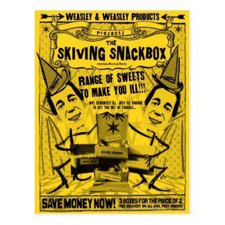 Weasley en weasleyProducten Briefkaart