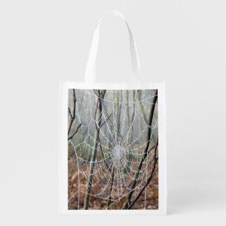Web de sac réutilisable européen d'araignée de