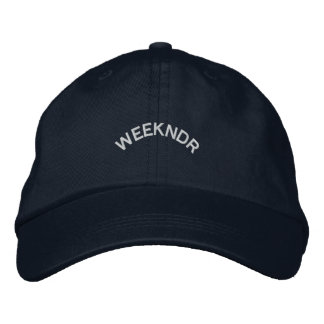 Weekndr de cv de casquette de papa casquette brodée