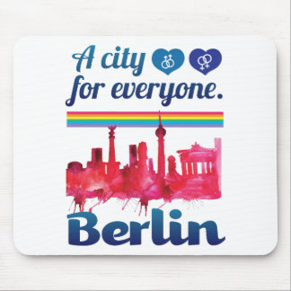 Wellcoda Berlin pour chacun ville affectueuse Tapis De Souris