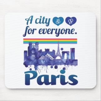 Wellcoda Paris pour chacun ville d'amour Tapis De Souris