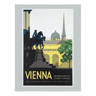 Wenen Oostenrijk - Vintage Reis Briefkaart