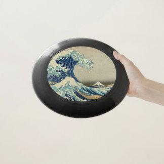 Wham-O Frisbee La grande vague outre de Kanagawa : Copie de bois