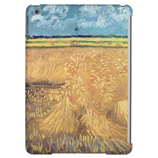 Wheatfield de Vincent van Gogh | avec des gerbes,