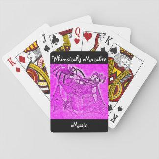 Whimsically Macabere speelkaarten