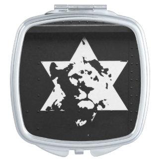 WHITE LION | Compact Mirror Square