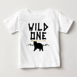 Wildernis Één draagt Overhemd van de Verjaardag Baby T Shirts
