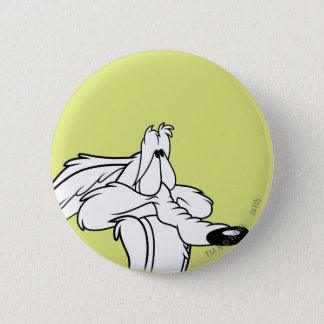 Wile E. Coyote Looking Badge Rond 5 Cm