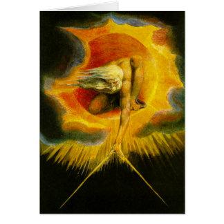 William Blake antique des jours Carte
