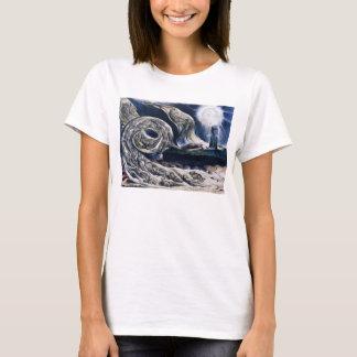 William Blake le T-shirt de tourbillon d'amants