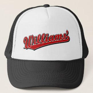 Williams en rouge casquette