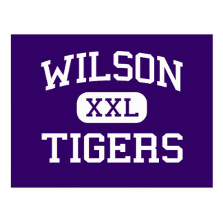 Wilson - tigres - haut - Florence la Caroline du Carte Postale