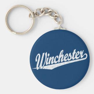 Winchester a affligé le blanc porte-clefs