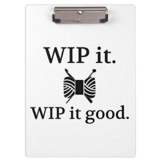 WIP il bon • Métiers de crochet de Knit