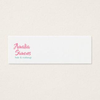 Witte Minimalistische Visitekaartjes