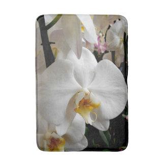 Witte Orchidee Badmat