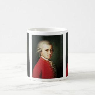 Wolfgang Amadeus Mozart Mug Blanc