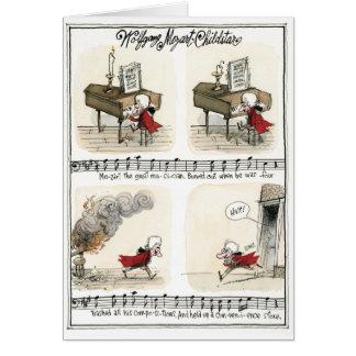 Wolfgang Mozart, carte d'enfant star