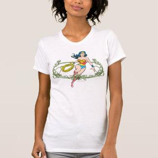 Wonder de Groene Wijnstokken van de Vrouw T Shirt