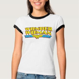 Wonder de Naam en het Logo van de Vrouw T Shirt