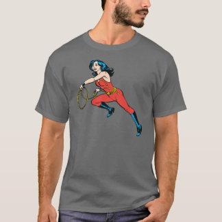 Wonder de Rode Uitrusting van de Vrouw T Shirt