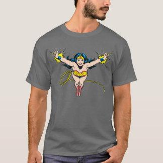 Wonder Voorwaartse de Vlieg van de Vrouw T Shirt
