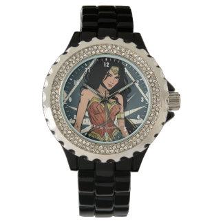 Wonder Vrouw met het Grappige Art. van het Zwaard Horloge
