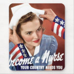 Word een Verpleegster Muismat