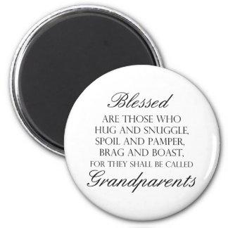 Worden gezegend… Grootouders Magneet