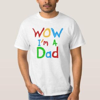 Wow je suis T-shirts et cadeaux d'un papa