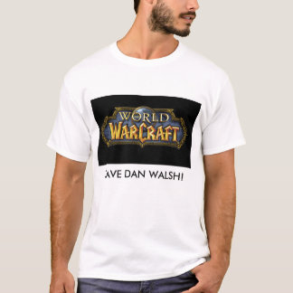 wow-logo2800, SAUVENT WALSH de DAN ! T-shirt