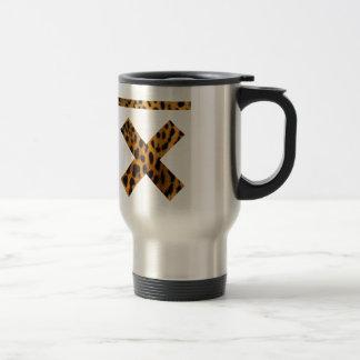 x gentil mug de voyage en acier inoxydable