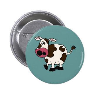 XX conception drôle de vache Badge Rond 5 Cm