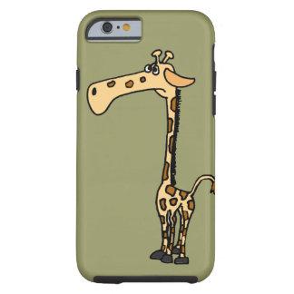 XX de grappige Cartoon van de Giraf Tough iPhone 6 Hoesje