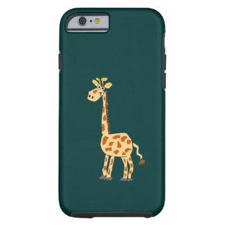 XX de grappige Primitieve Giraf van de Kunst Tough iPhone 6 Hoesje