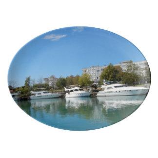 Yachts en Turquie Plateau De Service En Porcelaine