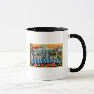 Yakima, Washington - grandes scènes 2 de lettre Mug