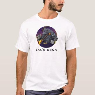Yakkicus de la courbure du yak ! t-shirt