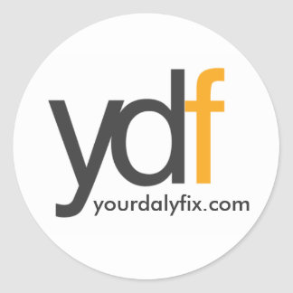 ydflogo, yourdalyfix.com sticker rond