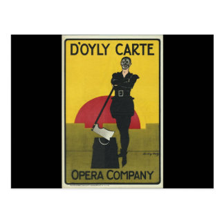 Yeomen de la carte postale d'opéra de garde