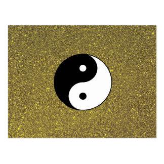 Yin et Yang Carte Postale
