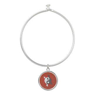 Yin et Yang le bracelet de bracelet de Koi