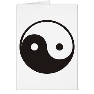 Yin Yang Carte