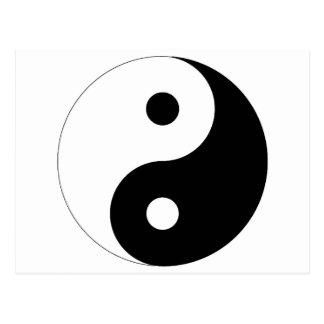 Yin Yang Carte Postale