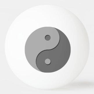 Yin Yang - grijze 1 Pingpongballen