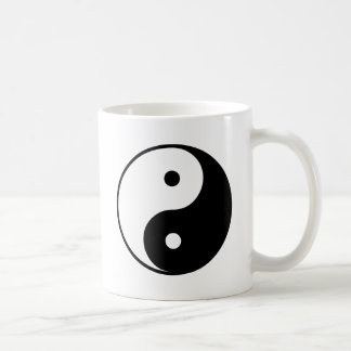 Yin Yang Mug Blanc